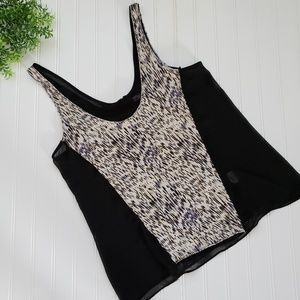 Silence + Noise | Urban Outfitters Zip Bank Tank M
